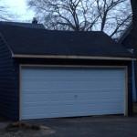Garage Damaged From Hurricane Irene Maplewood,NJ